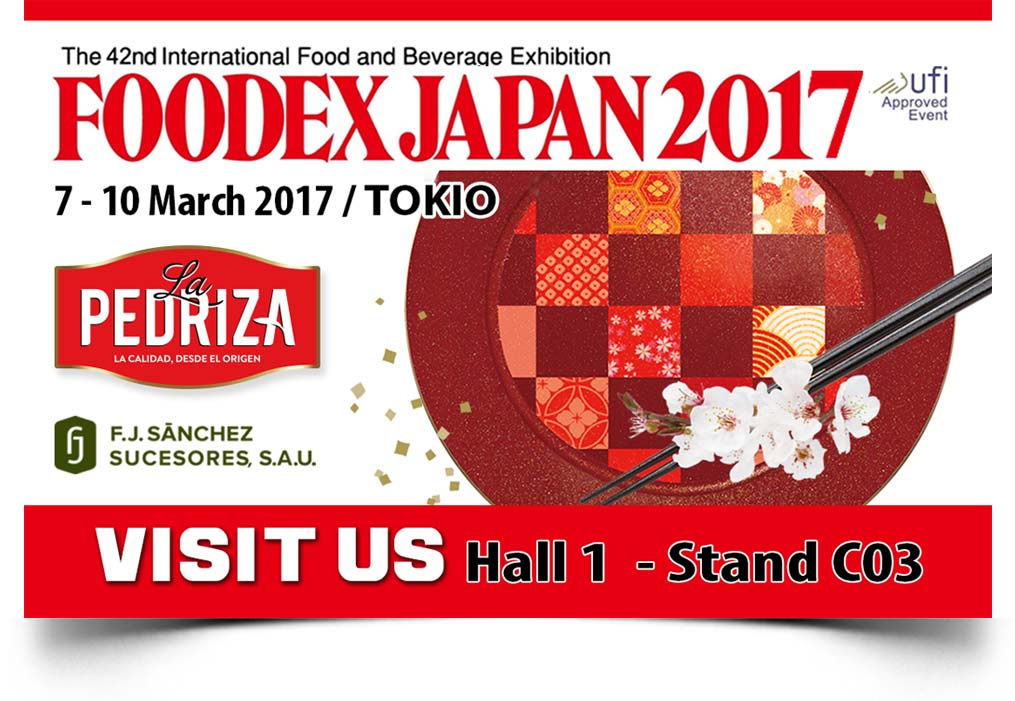 fj sanchez FOODEX JAPAN sombra AC